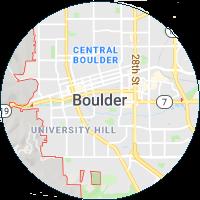 map image of boulder colorado